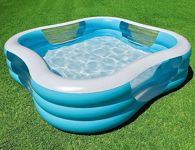 Надувной бассейн для дачи фото