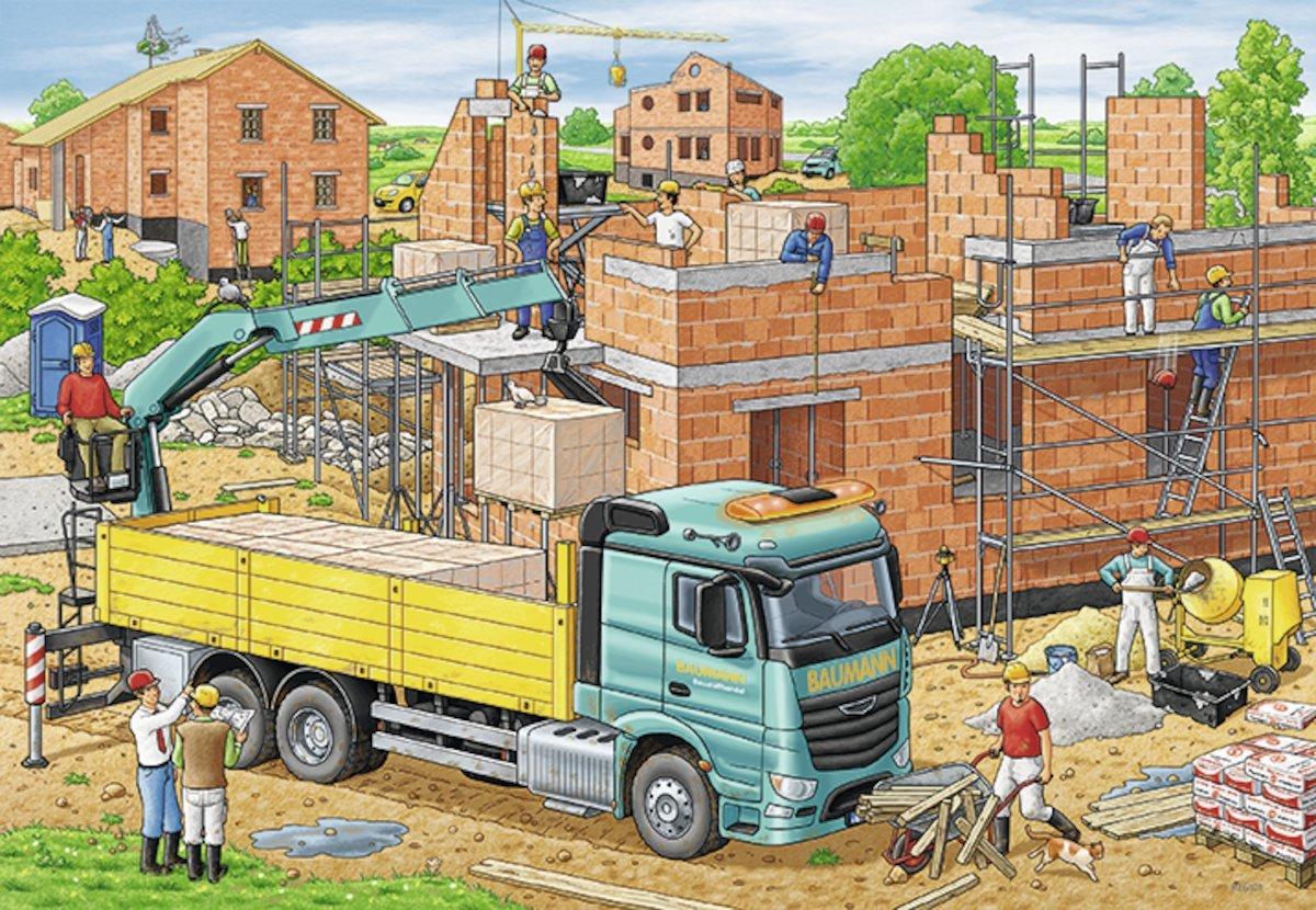 дом с картинки к трехлетию сына стройка