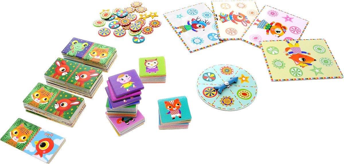 Карточки с картинками для детских настольных игр